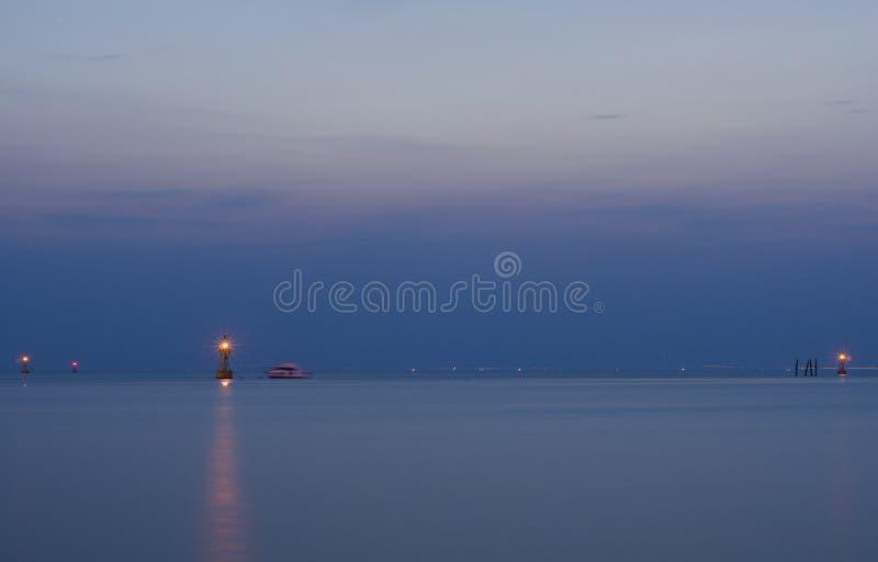 La mer calme photographie stock