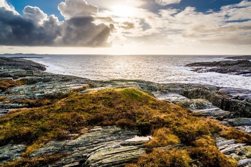 La Mer du Nord images libres de droits