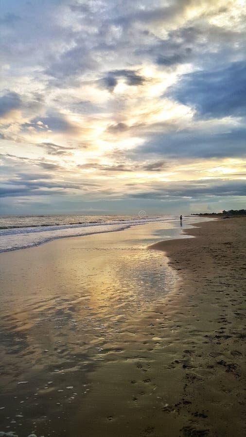La mer et le ciel images stock