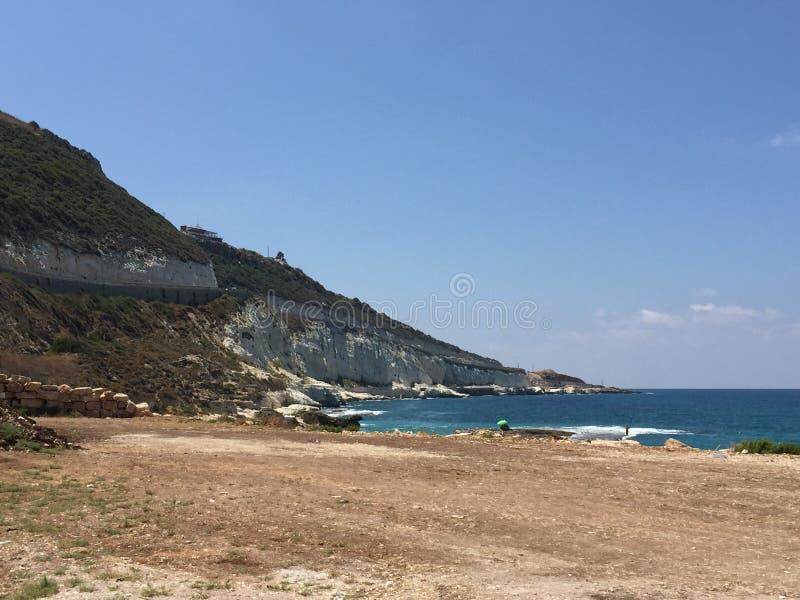 La mer Méditerranée image libre de droits