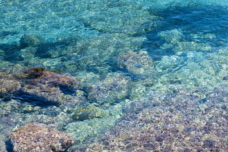 La mer Méditerranée sicilienne image libre de droits