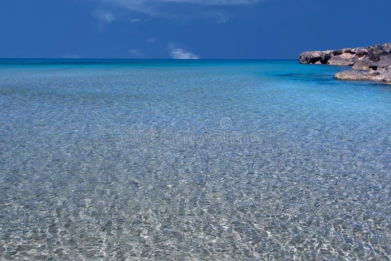 La mer Méditerranée sicilienne photographie stock