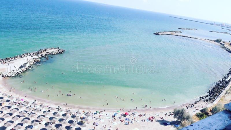 La Mer Noire dans Mangalia-Saturn images libres de droits