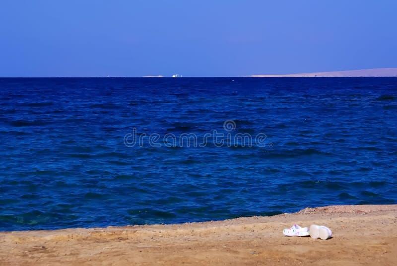 La Mer Rouge dans Hurghada l'Egypte la Mer Rouge en décembre 2013 photos stock
