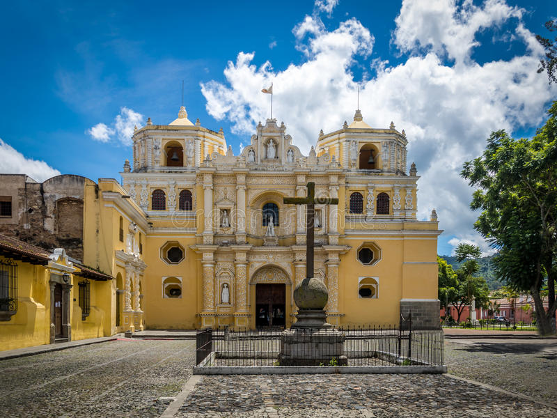 La Merced Church - Antigua, Guatemala. La Merced Church in Antigua, Guatemala stock photography