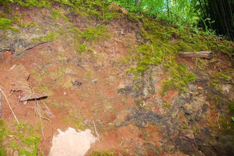 La meseta de la montaña en Kanchanaburi, Tailandia imagen de archivo libre de regalías
