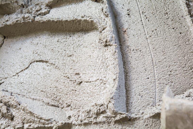 La mezcla del cemento imagenes de archivo