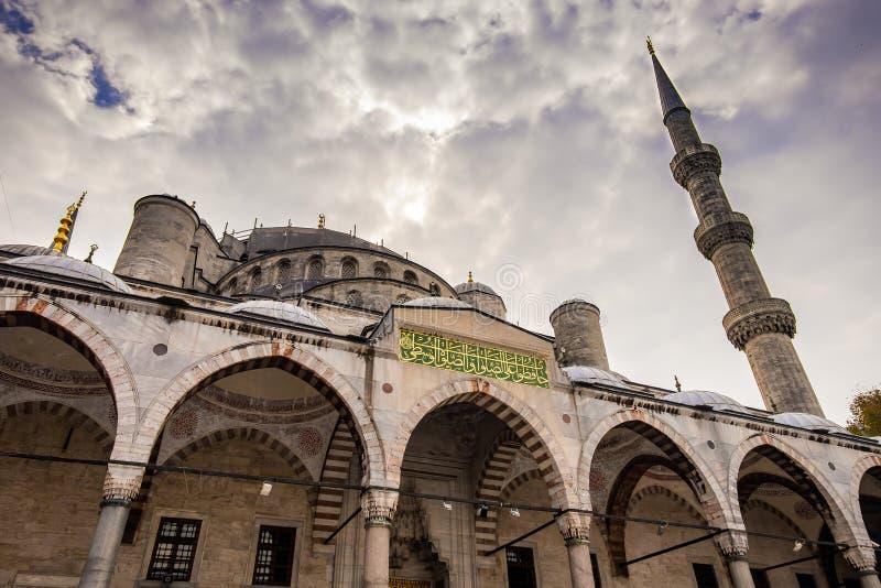 La mezquita azul Estambul, Turquía Sultanahmet Camii imágenes de archivo libres de regalías