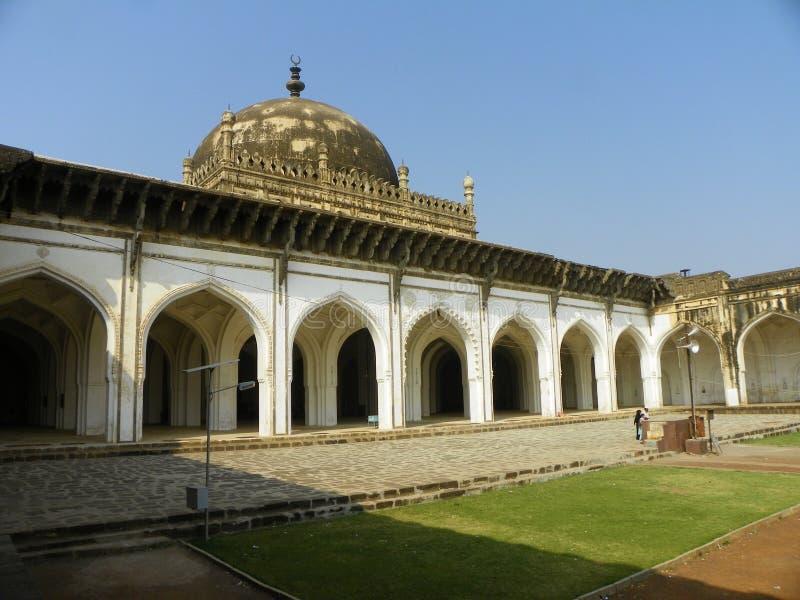 La mezquita Bijapur la India del sur de Jamma fotos de archivo libres de regalías