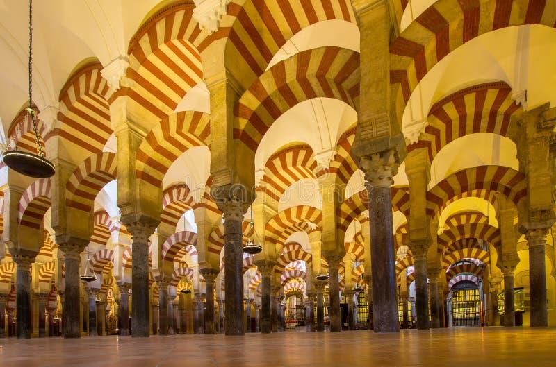 La Mezquita Cathedral in Cordoba, Spain stock image