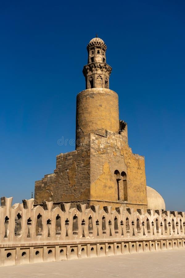 La mezquita de Ahmad Ibn Tulun fotografía de archivo libre de regalías