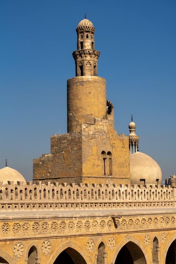 La mezquita de Ahmad Ibn Tulun foto de archivo libre de regalías