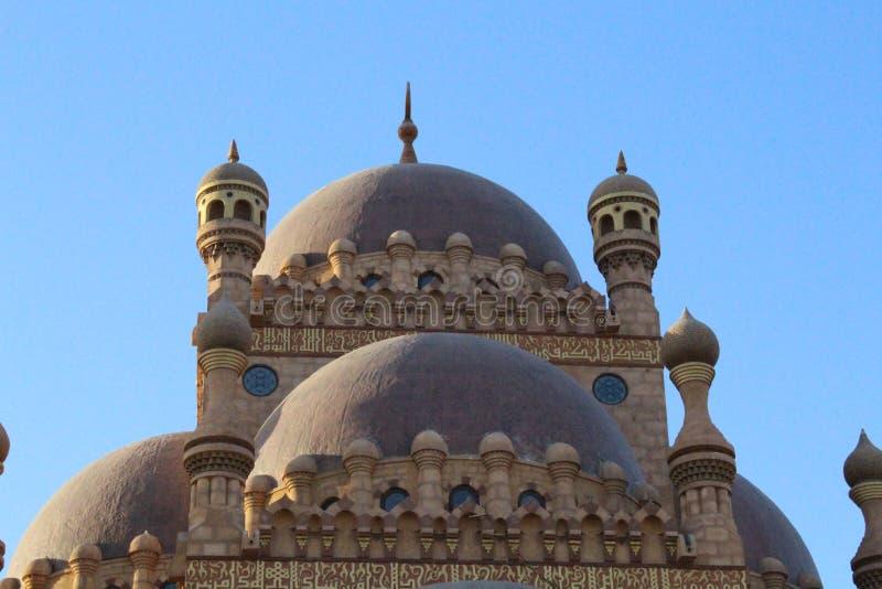 La mezquita en el Sharm el Sheikh imagen de archivo