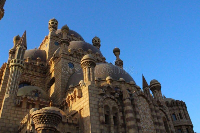 La mezquita en el Sharm el Sheikh fotos de archivo libres de regalías