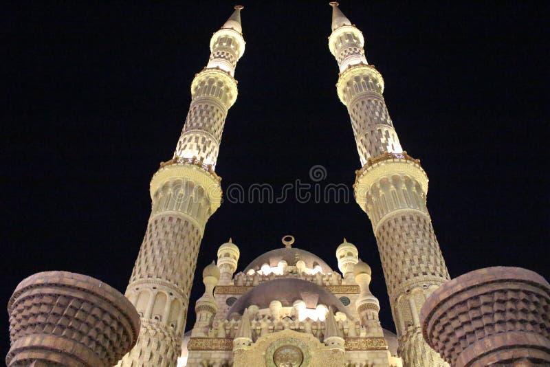 La mezquita en el Sharm el Sheikh imagen de archivo libre de regalías