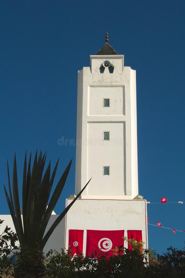 La mezquita en los BU de Sidi dijo fotos de archivo