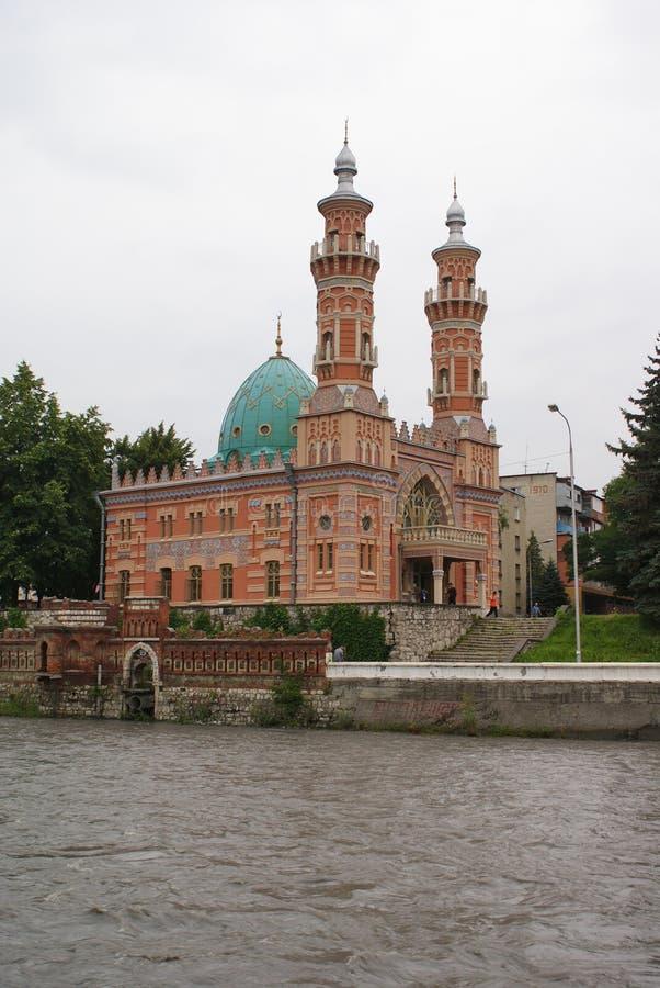 La mezquita en Vladikavkaz imagen de archivo