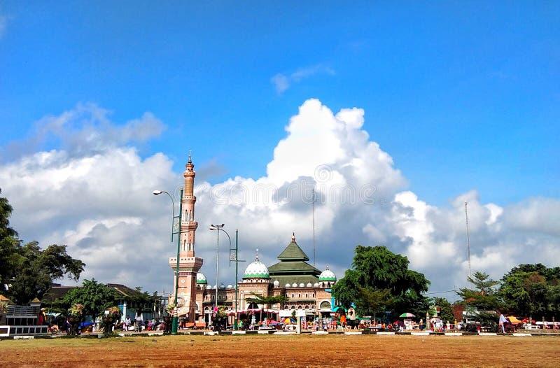La mezquita magnífica de An-Nur fotografía de archivo libre de regalías