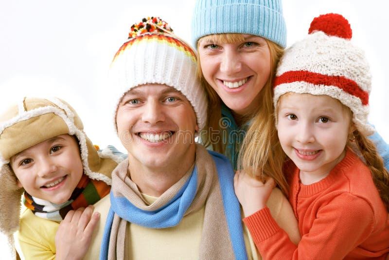 La mia famiglia immagine stock libera da diritti