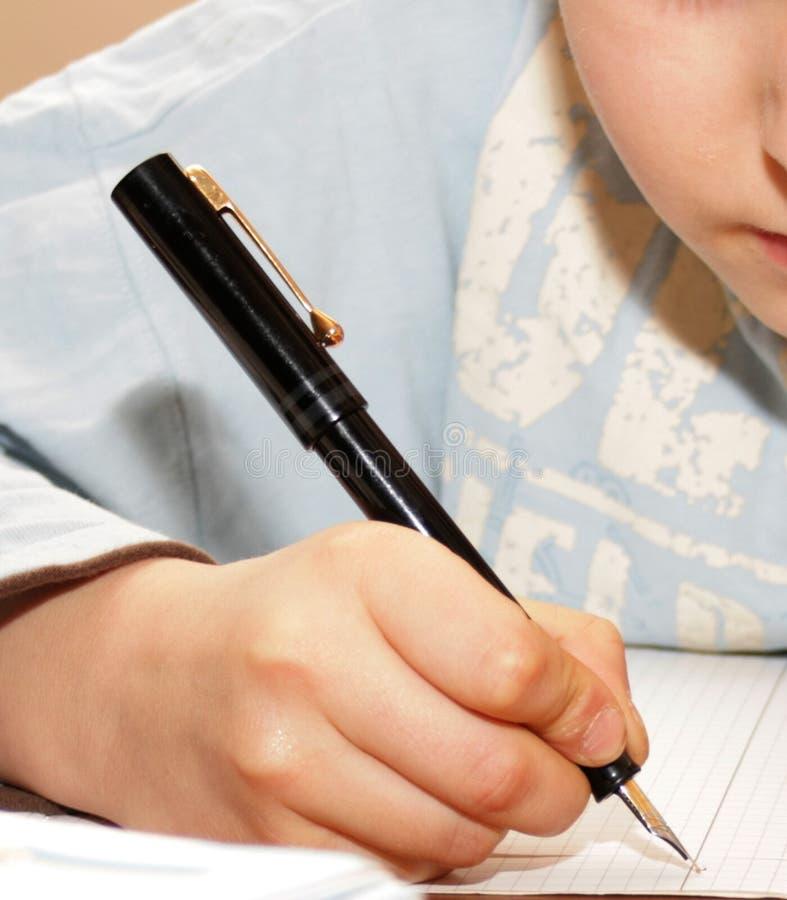 La mia penna immagine stock libera da diritti