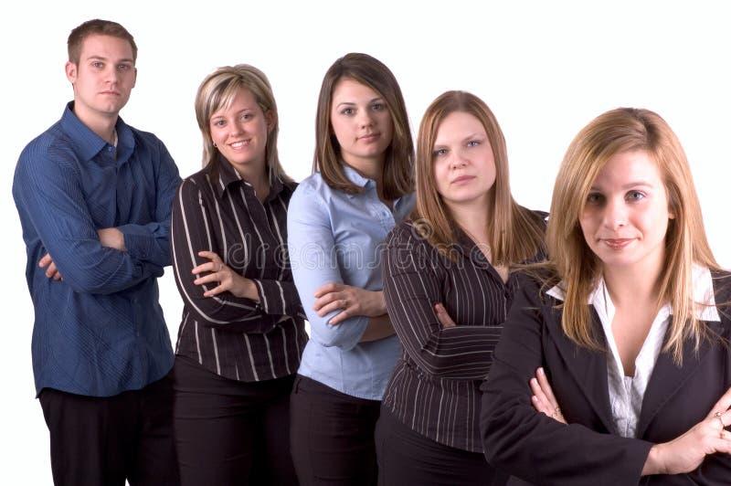 La mia squadra di affari fotografia stock libera da diritti