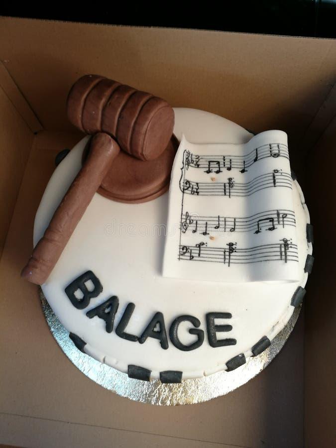 La mia torta di compleanno fotografia stock libera da diritti