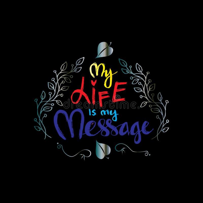 La Mia Vita è Il Mio Messaggio Citazioni Ispiratrici Di