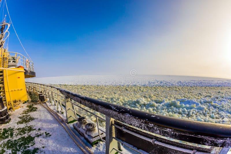 La miette de glace photographie stock libre de droits
