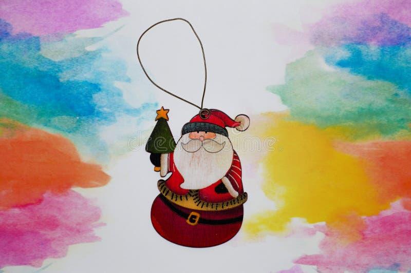La migliore carta della clausola Babbo Natale immagine stock libera da diritti