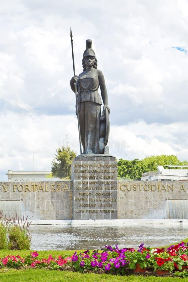 La Minerva a Guadalajara fotografie stock