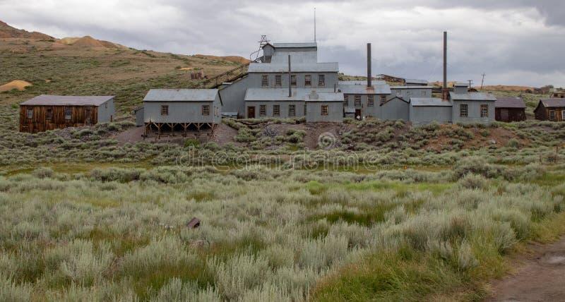 La miniera in Bodie, California immagine stock