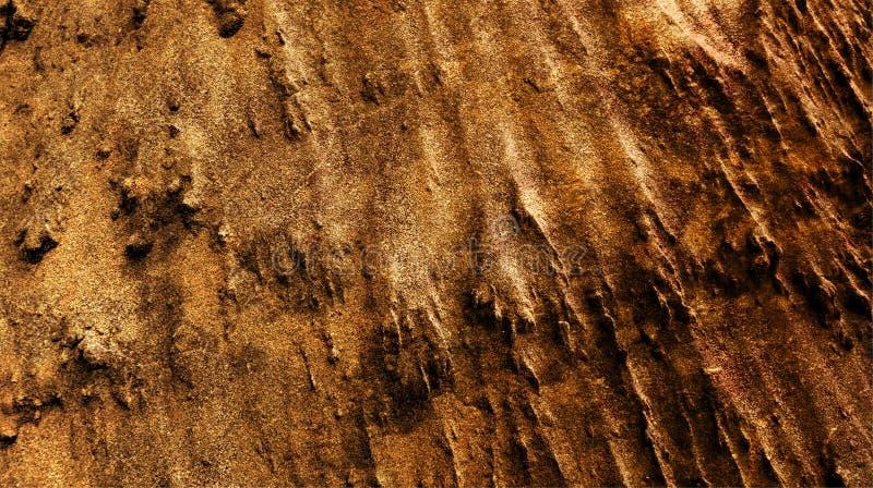 La miscela di colore leggera marrone chiaro della noce ha protetto l'illustrazione strutturata astratta di vettore della carta da illustrazione di stock