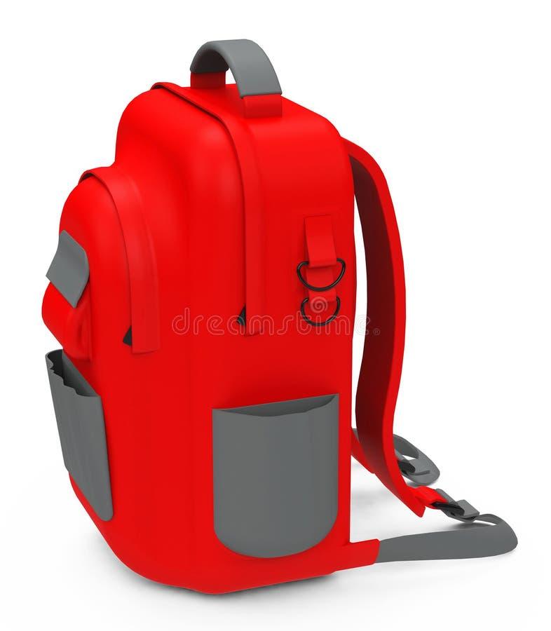 La mochila stock de ilustración