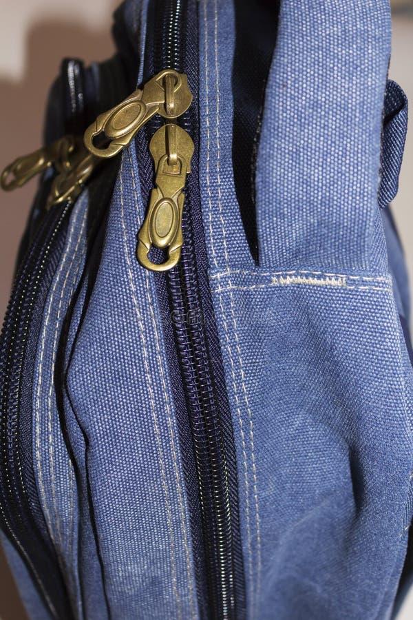 La mochila, vista lateral imagenes de archivo