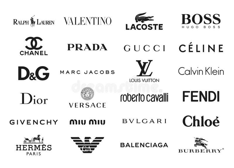 La Moda Califica Logotipos Foto Editorial Ilustraci 243 N De
