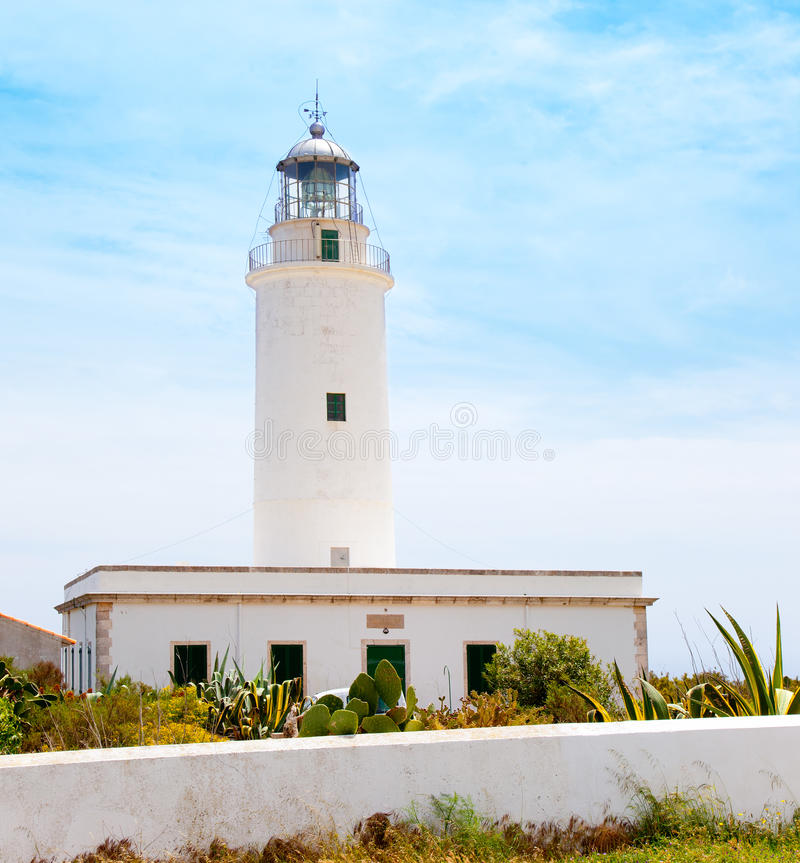 Download La Mola Lighthouse In Formentera In Balearic Stock Photo - Image: 25411160