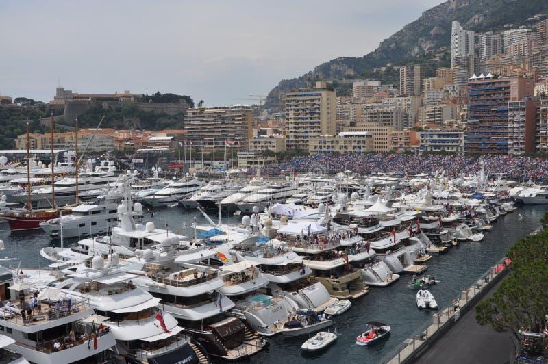 La Monaco durante il grande Prix 2012 fotografie stock