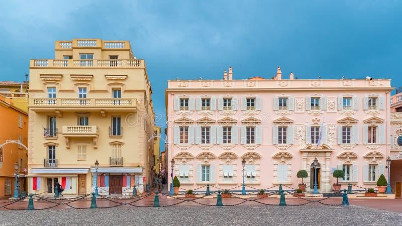La Monaco, Monte Carlo fotografia stock libera da diritti