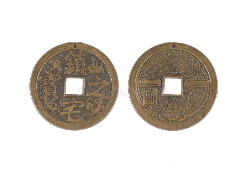 La moneta cinese fotografia stock