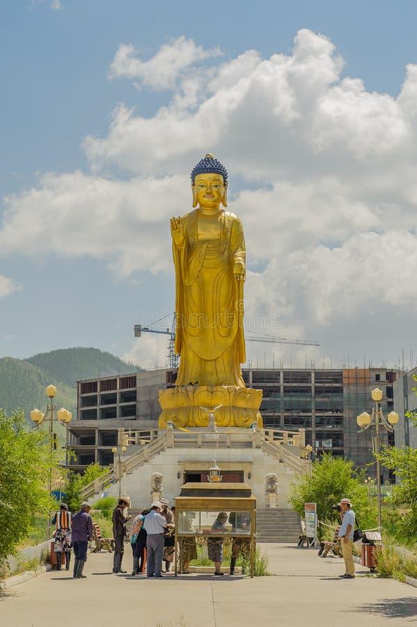 La Mongolie - l'Ulaanbaatar photographie stock libre de droits