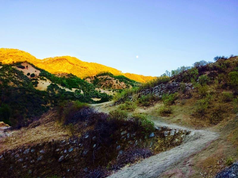 La montaña, chaouen foto de archivo