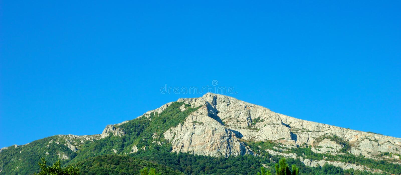 La montaña crimea imagen de archivo