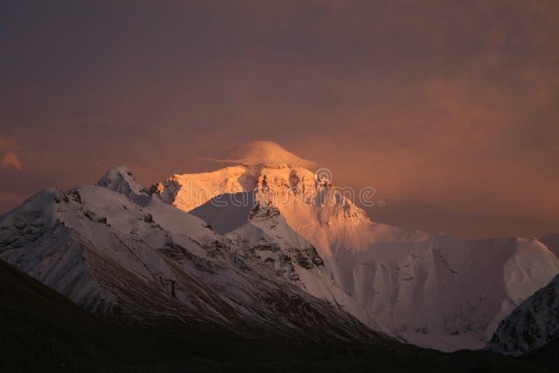La montaña Everest foto de archivo libre de regalías