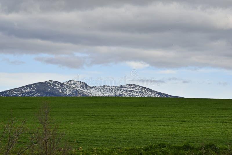 La montaña llamó popular a Dead Woman en Segovia España imagen de archivo