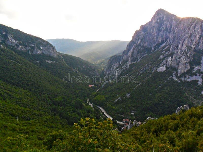 La montagna fotografia stock