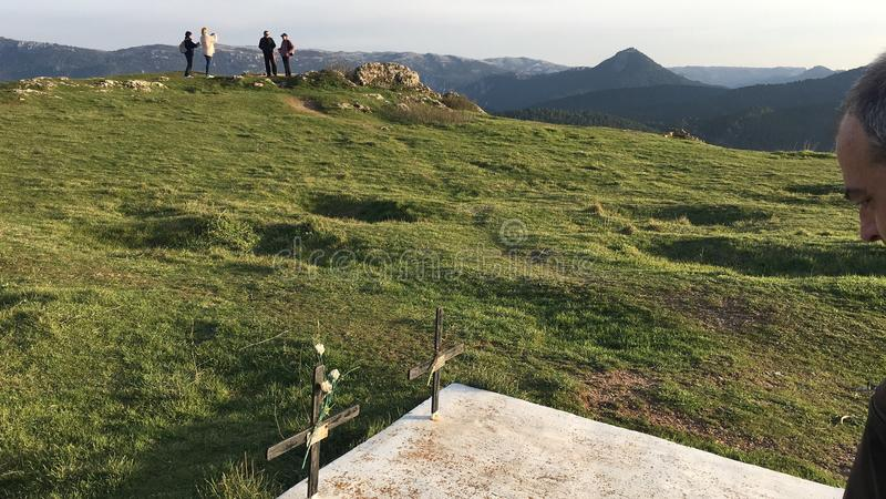 La montagna fotografie stock libere da diritti
