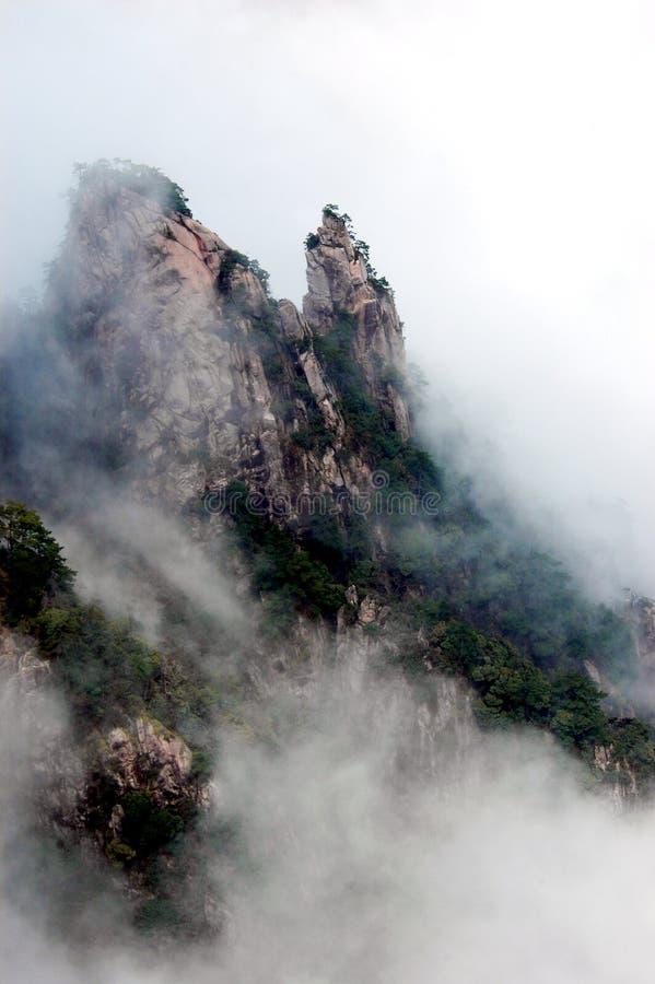 La montagna di huangshan immagine stock libera da diritti