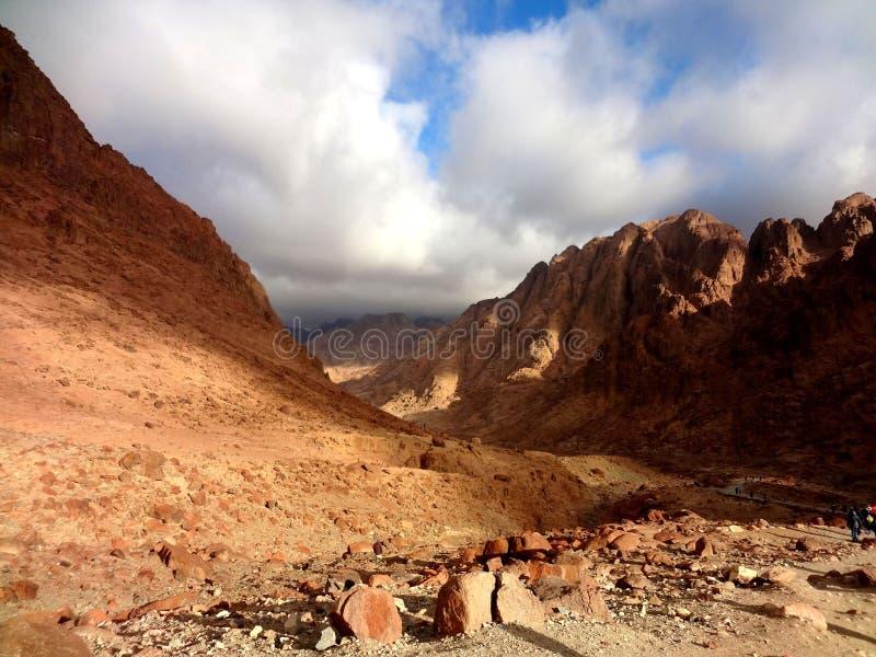 La montagna di Mosè, Sinai immagine stock libera da diritti