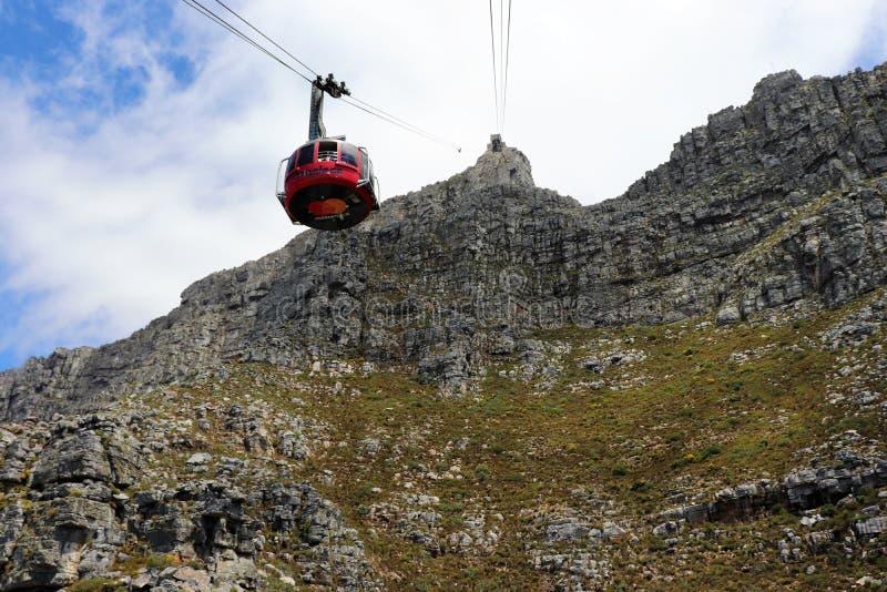 La montagne de Tableau est une montagne de plateau au sud de Cape Town images libres de droits