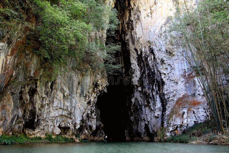 Download La Morfologia Carsica Frana Il Villiage Di Bamei Immagine Stock - Immagine di canyon, coltura: 55365709